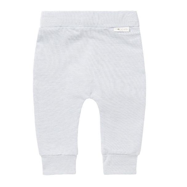 67374- Noppies - Grey Blue Striped Pants Pants Noppies