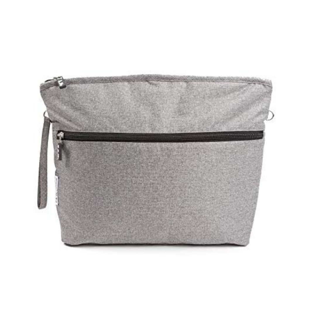 7 A.M. ENFANT - Large Heather Grey Clutch Bag Clutch 7 A.M. Enfant