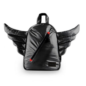 7 A.M. Enfant - Mini Wings Black Backpack Backpack 7 A.M. Enfant