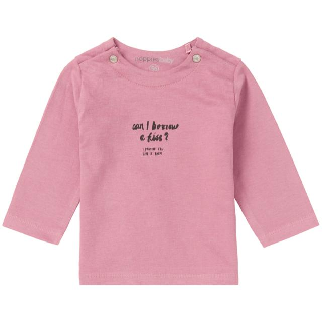 74401- Noppies - Old Pink Goulds Long Sleeve Shirt Long Sleeve Shirts Noppies