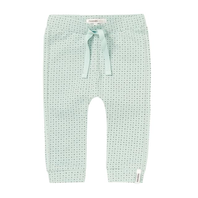 74409- Noppies - Grey Mint Jersey Griswold Pants Pants Noppies
