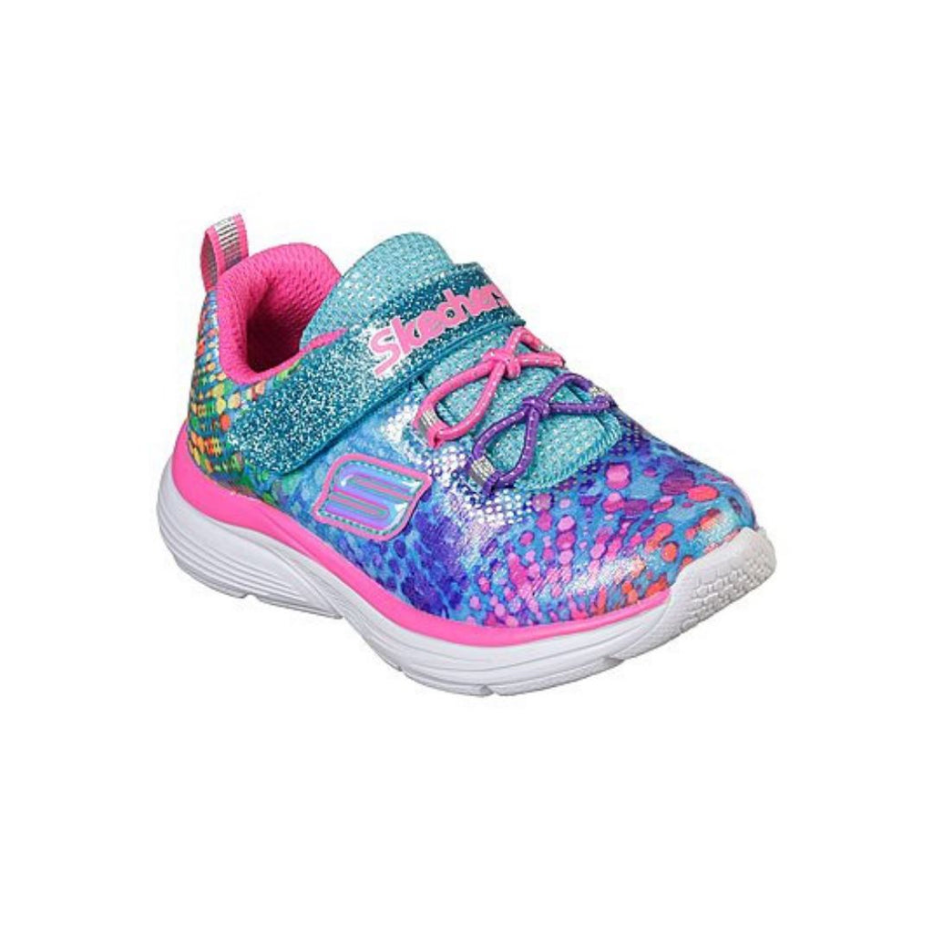 81383-SKECHERS WAVY LITES-DAZZLE BLAST MLT (Kids 5 - Youth 4) footwear Skechers