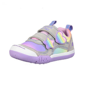 82162N Skechers Flex Play Rainbow Dash Girls Shoes (Toddler 5 - Kids 10) footwear Skechers