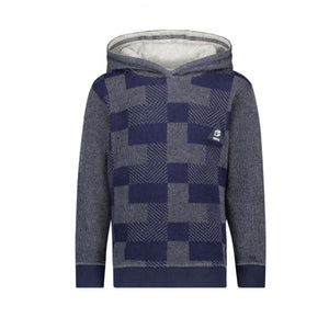 85612 - Noppies Navy Abstract Hooded Sweatshirt Sweatshirt Noppies