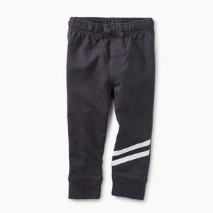 8F42200-111 Tea Collection Phantom Sporty Stripe Baby Joggers Pants Tea Collection