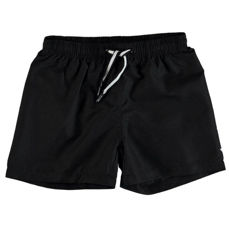8S19P406 Molo - Niko Black Swim Shorts Swimwear Molo