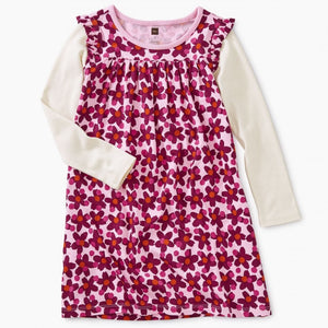 8W12315 Tea Collection Mighty Mini Lanai Geo Floral Girls Dress Dress Tea Collection