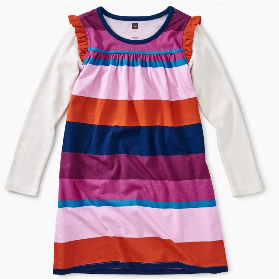 8W12315 Tea Collection Mighty Mini Snap Dragon Girls Dress Dress Tea Collection