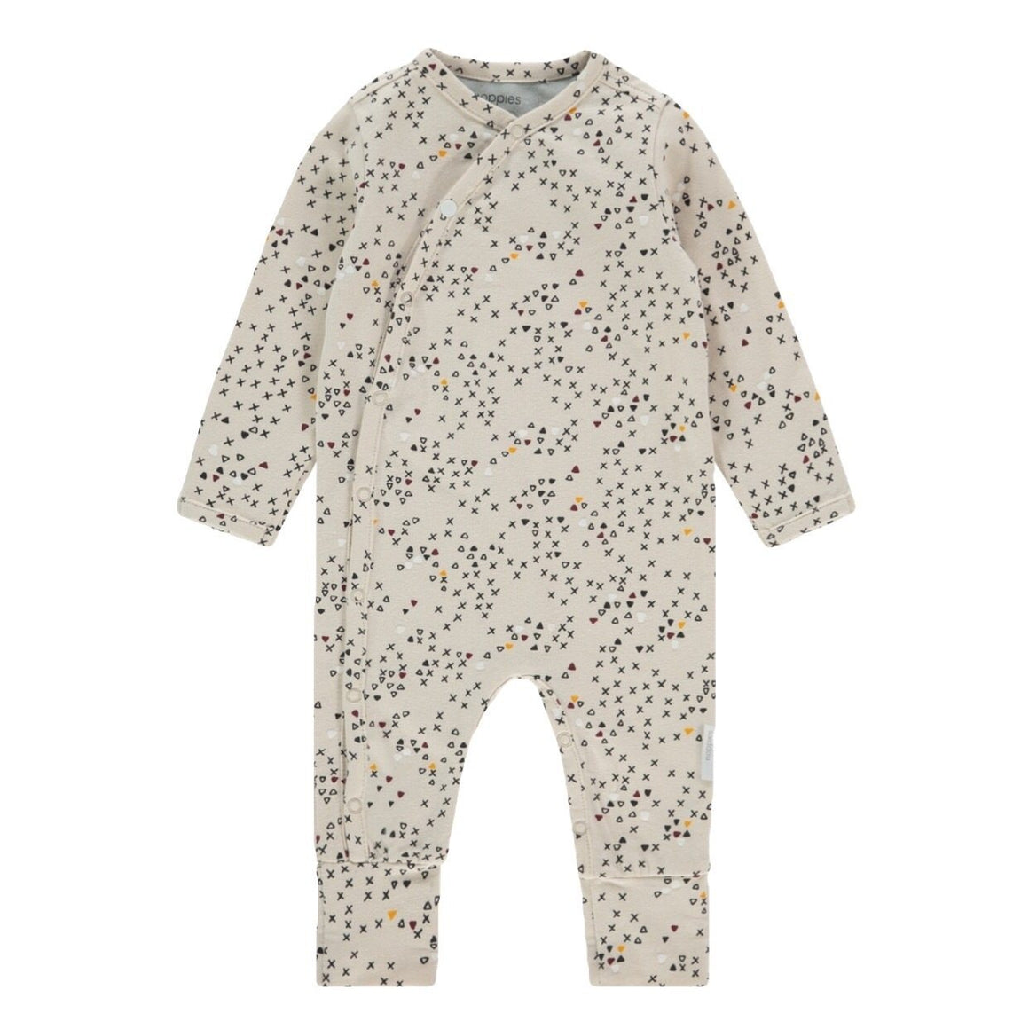 94517 - Noppies - Quaisumah Unisex Baby Organic Playsuit - Moonbeam Sleeper Noppies