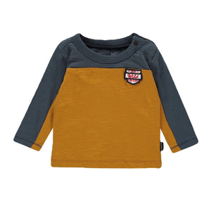 94537 - Noppies - Airmont Baby Boy Long Sleeve Top - Midnight Navy Long Sleeve Shirts Noppies