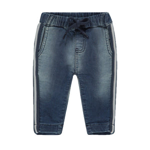 94549 - Noppies - Brownsville Baby Boy Denim Bottoms - Medium Blue Wash Pants Noppies