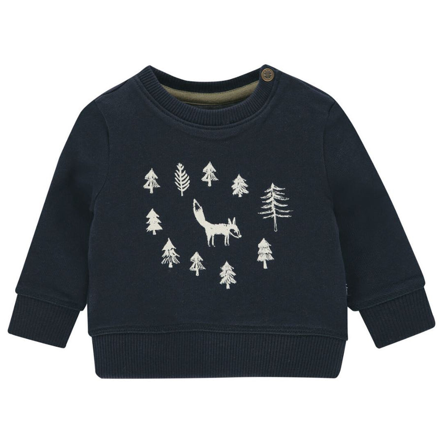 94634 - Noppies - Allendale Baby Boy Sweatshirt - Dark Saphire Sweatshirt Noppies