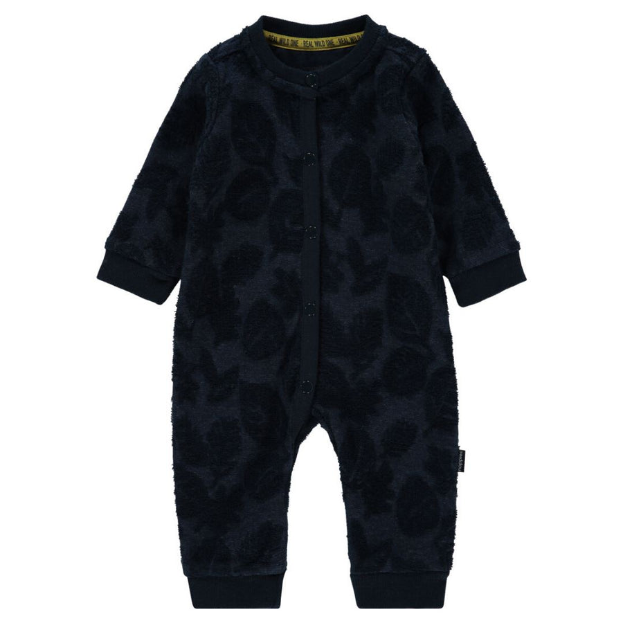 94652 - Noppies - Alta Sierra Unisex Baby Playsuit - Dark Saphire Sleeper Noppies
