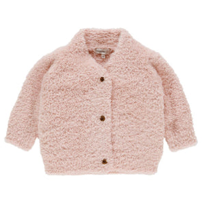94761 - Noppies - Baby Girl Cottonwood Cardigan - Peach Skin Cardigan Noppies