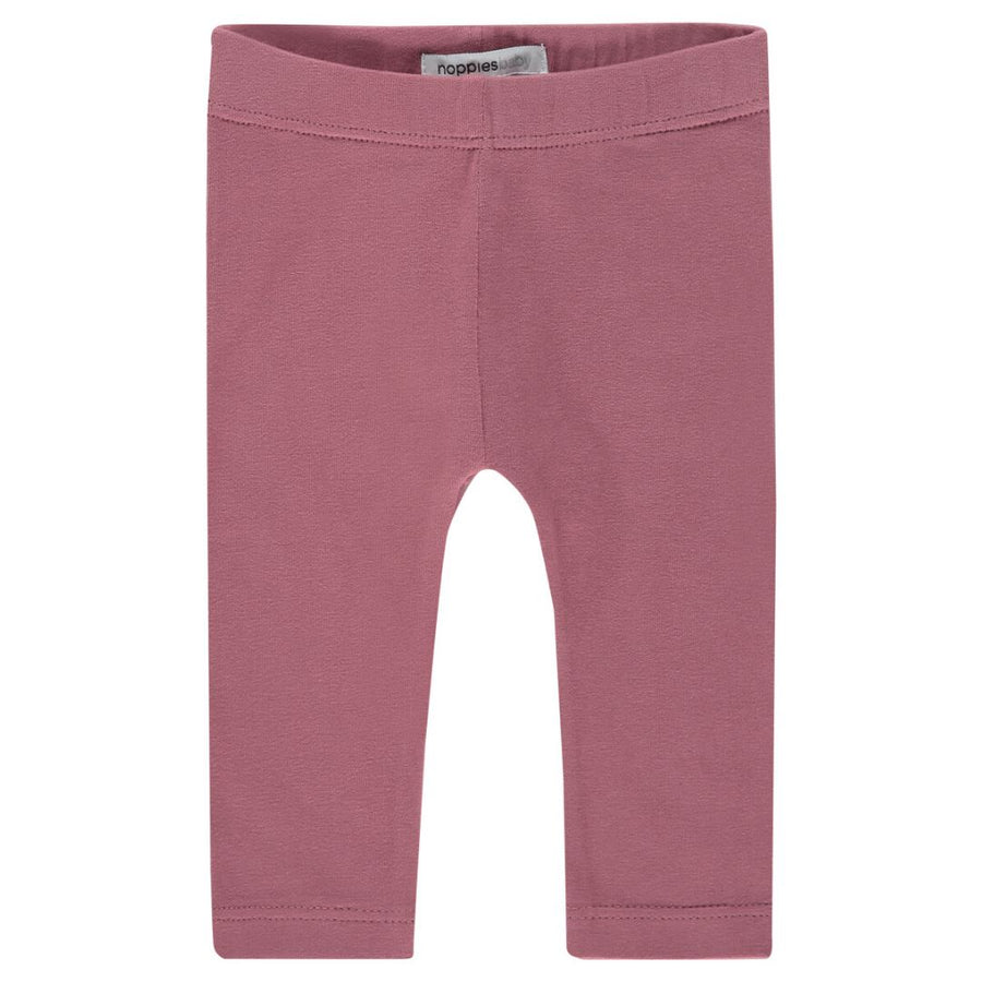 94783 - Noppies - Baby Girl Crosette Leggings - Mauvewood Leggings Noppies