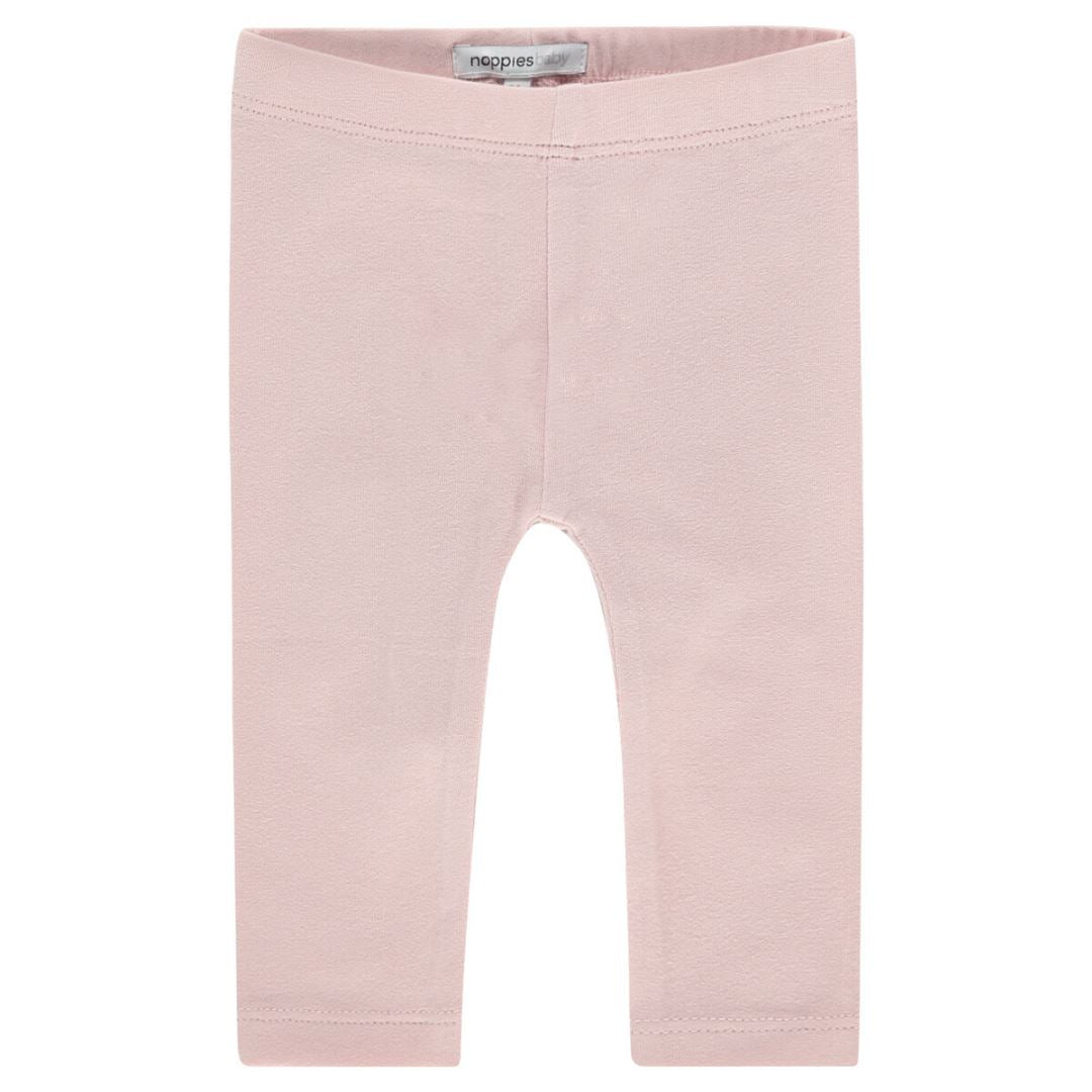 94783 - Noppies - Baby Girl Crosette Leggings - Peach Skin Leggings Noppies