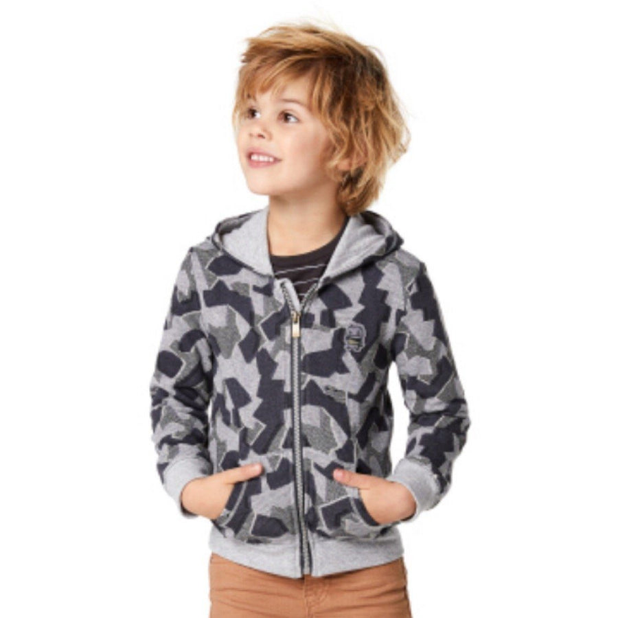 95108 - Noppies Hooded Palm Bay Zip Up Sweatshirt Sweatshirt Noppies