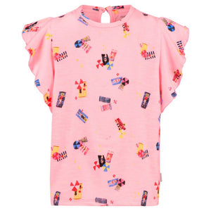 95272- Noppies Girls Tee Boxy Rifle Short Sleeve Shirts Noppies
