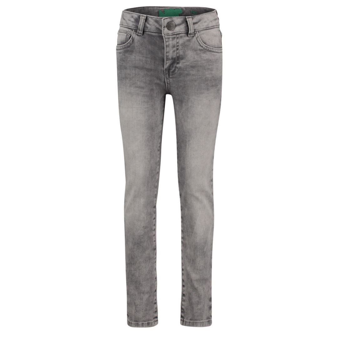 96223- Noppies Unisex Light Grey Wash Slim Fit Blackstone Denim Pants Noppies