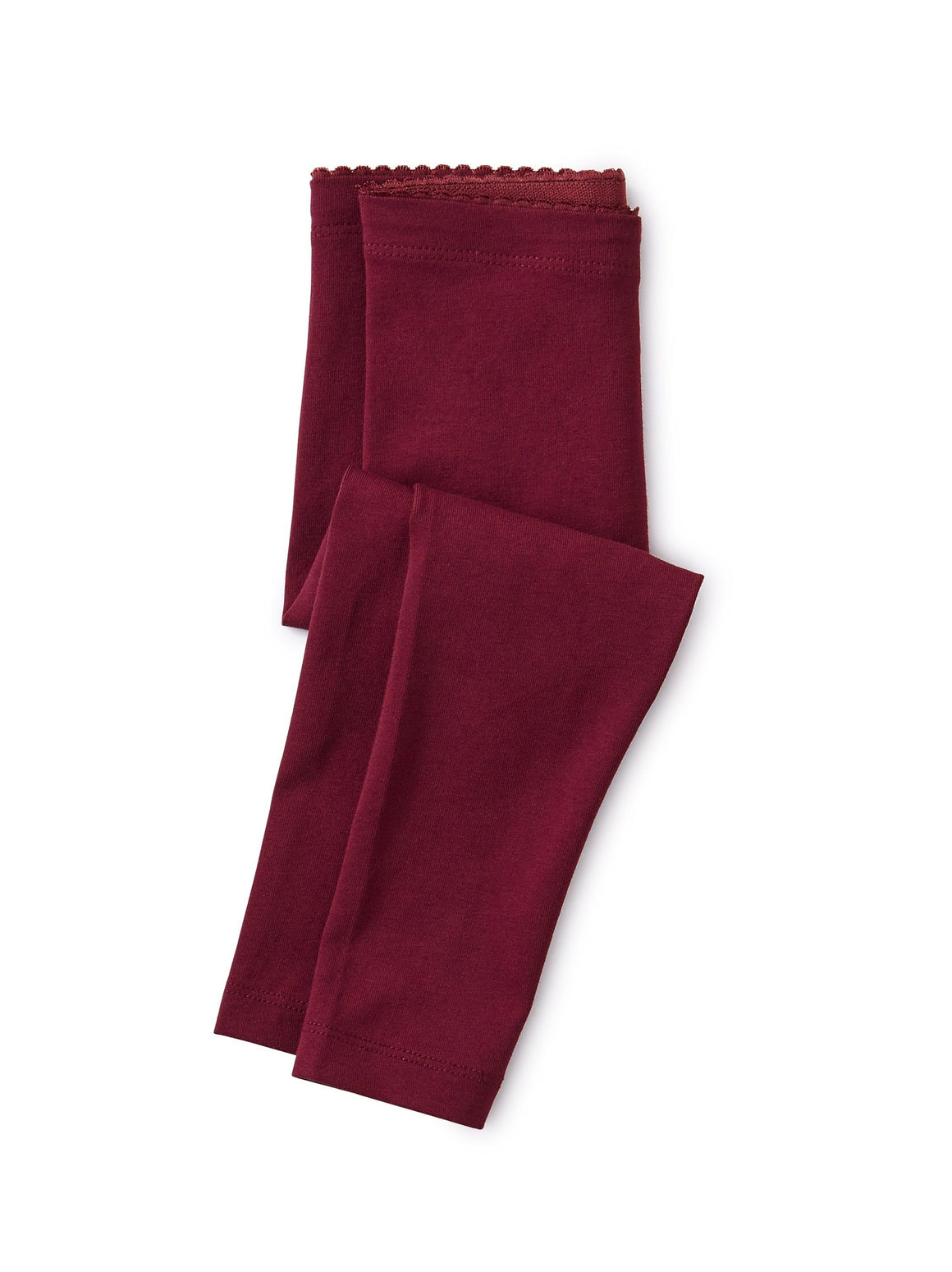 9F32200-553 - Tea Collection Solid Boysenberry Baby Leggings Leggings Tea Collection