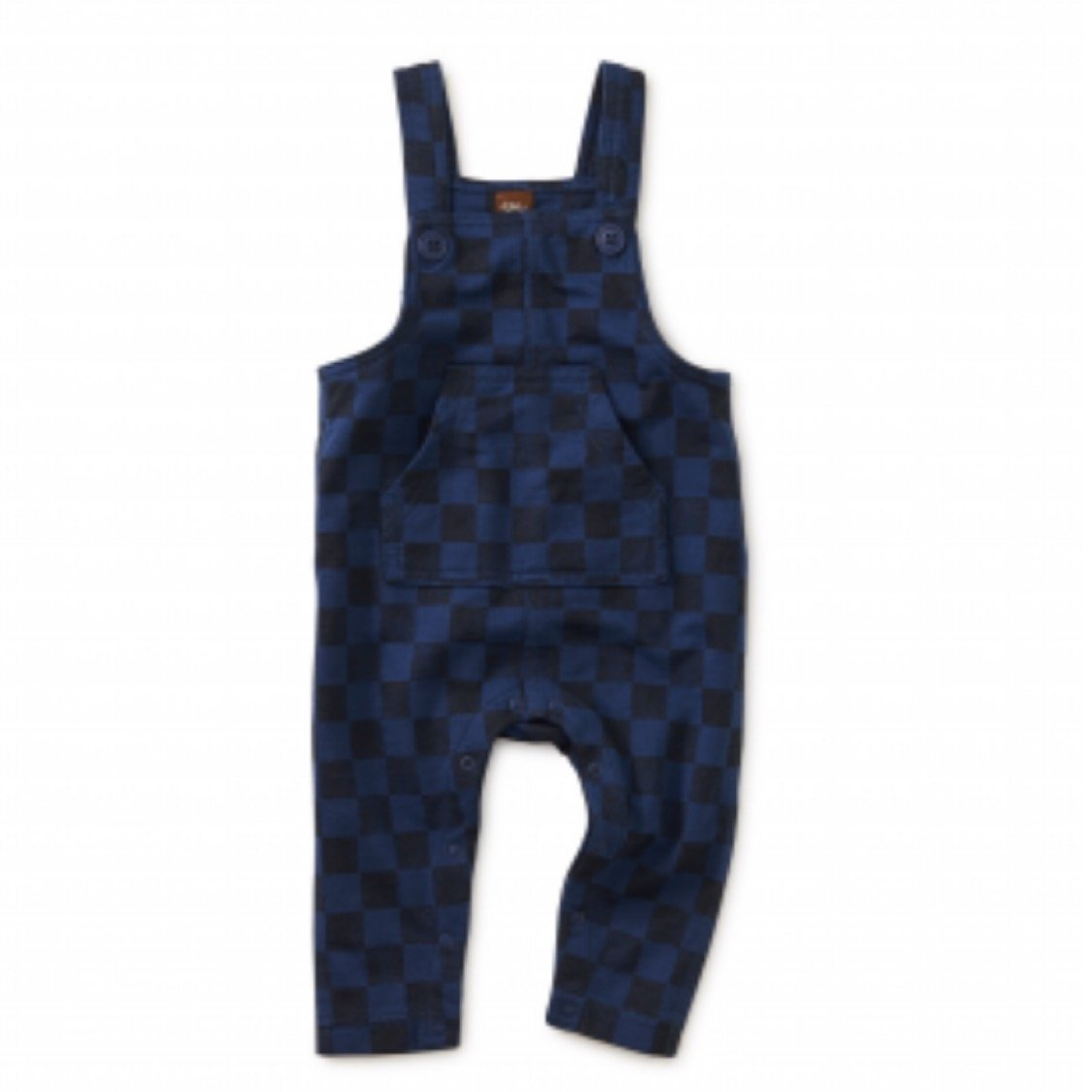 9F42509 - Tea Collection Checkerboard Overalls Jumpsuits / Rompers Tea Collection