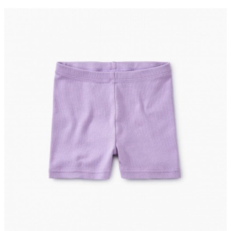 9S12209-618 Solid Aster Girls Somersault Shorts Shorts Tea Collection