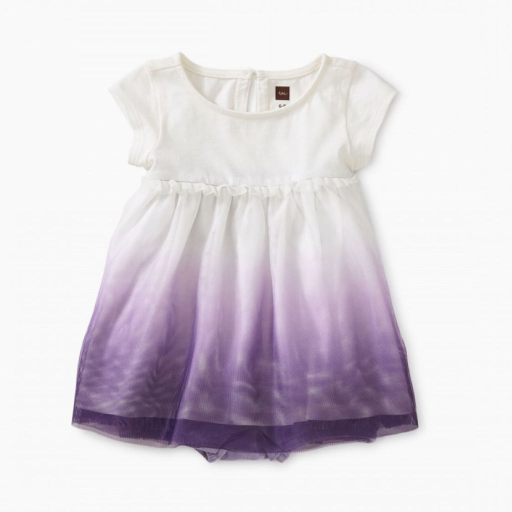 9S32510-648 Tea Collection Taro Purple Baby Girls Tulle Romper Dress Dress Tea Collection
