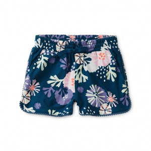 9W12214-Z23 Tea Collection Sea Life Adventures Pom Pom Shorts Shorts Tea Collection