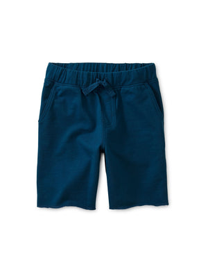 9W22205-C11 Tea Collection Ascot Blue Solid Cruiser Shorts Shorts Tea Collection