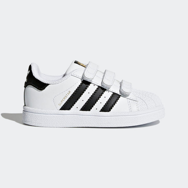 Adidas - Black / White Superstar Kids Shoes (Toddler 5 - Kids 10)