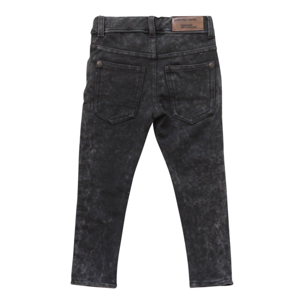 Lucky No. 7 - Black Jog Denim