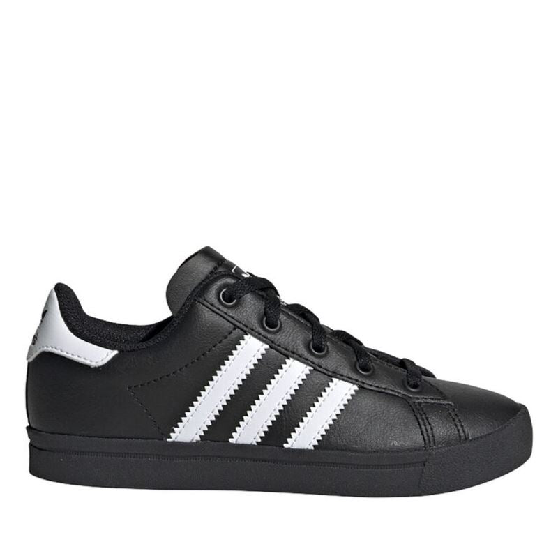 Adidas EE7486 - Coast Star C Shoes - Black (Kids 11 - Youth 3) footwear Adidas