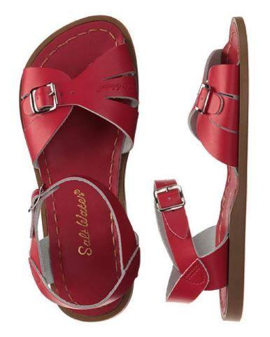Adult Classic Saltwater Sandals - Red Sandals Salt Water Sandals