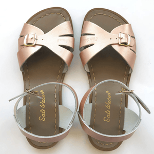 Adult Classic Saltwater Sandals - Rose Gold Sandals Salt Water Sandals