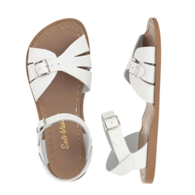 Adult Classic Saltwater Sandals - White Sandals Salt Water Sandals