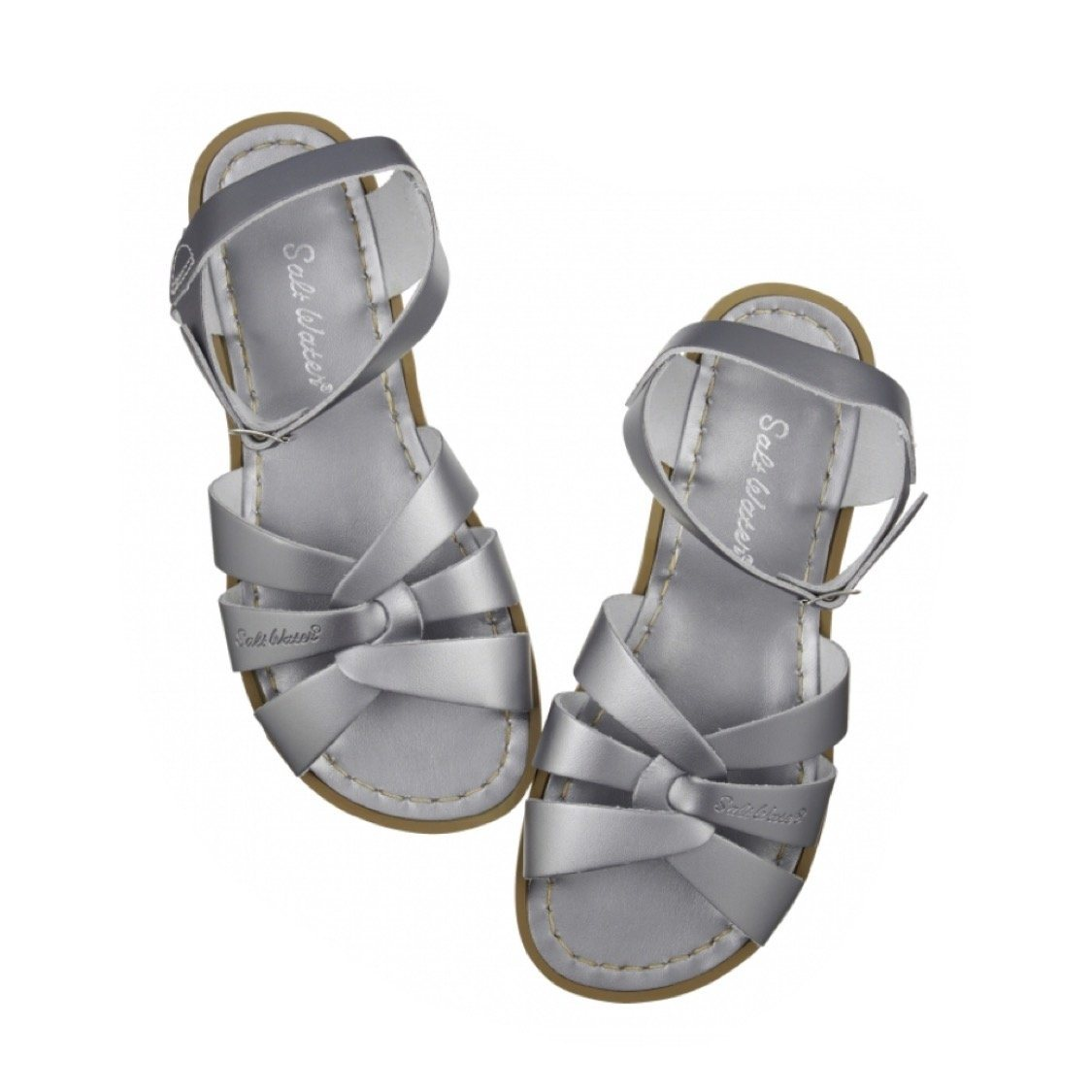 Adult Original Saltwater Sandals - Pewter Sandals Salt Water Sandals