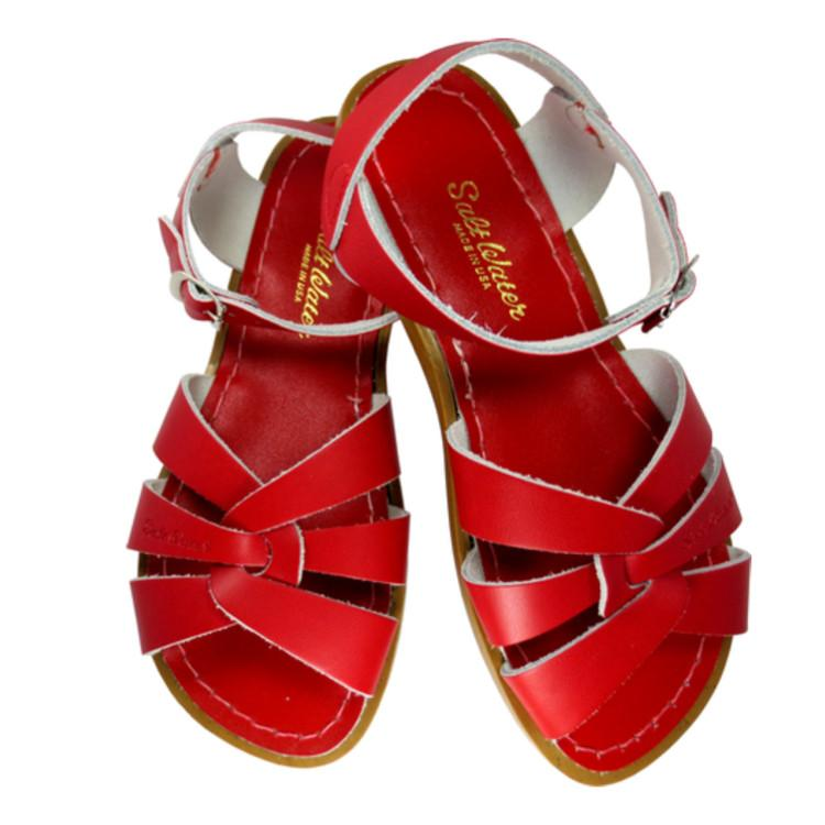 Adult Original Saltwater Sandals - Red Sandals Salt Water Sandals