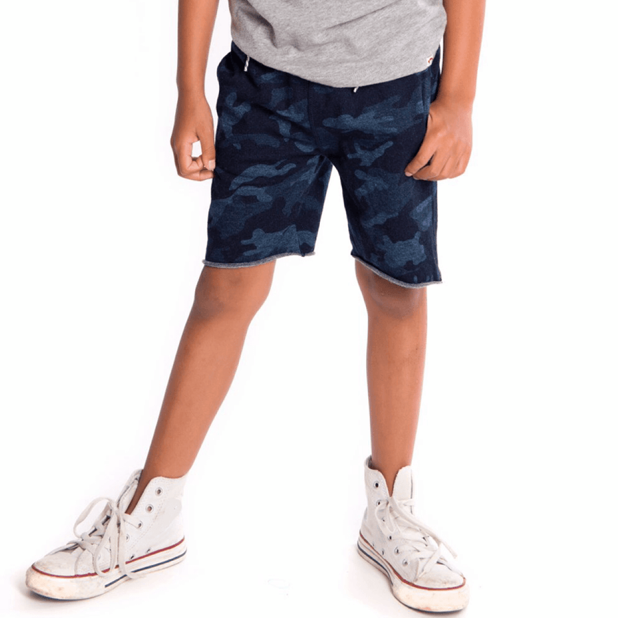 Appaman - Indigo Camo Camp Shorts Shorts Appaman