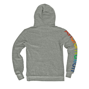 Aviator Nation - Adult Heather Grey Pullover Hoodie Sweatshirt Aviator Nation