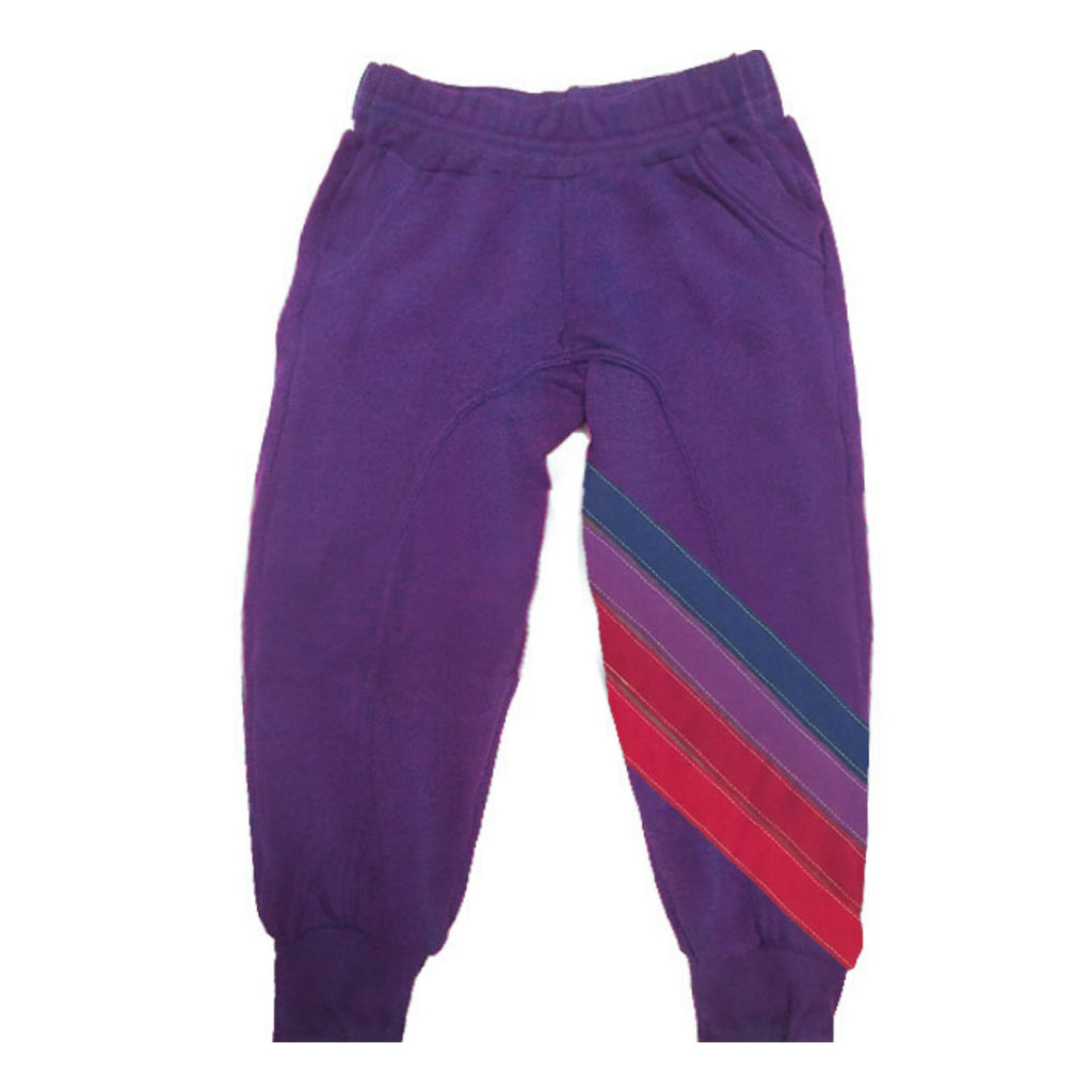 Aviator Nation - Kid's Nova Sweatpants - Vintage Purple / Purple Sweatpants Aviator Nation