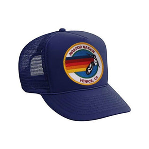 Aviator Nation - Navy Signature Kids Vintage Venice Trucker Hat hat Aviator Nation