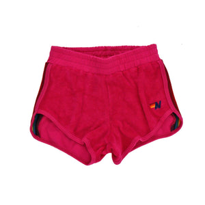 Aviator Nation - Prism Girls Jogger Short / Rose Shorts Aviator Nation