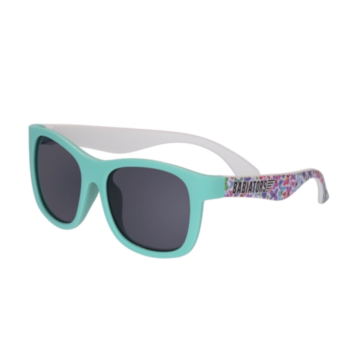 Babiators Navigator Limited Edition Sunglasses - Social Butterfly Turquoise Sunglasses Babiators