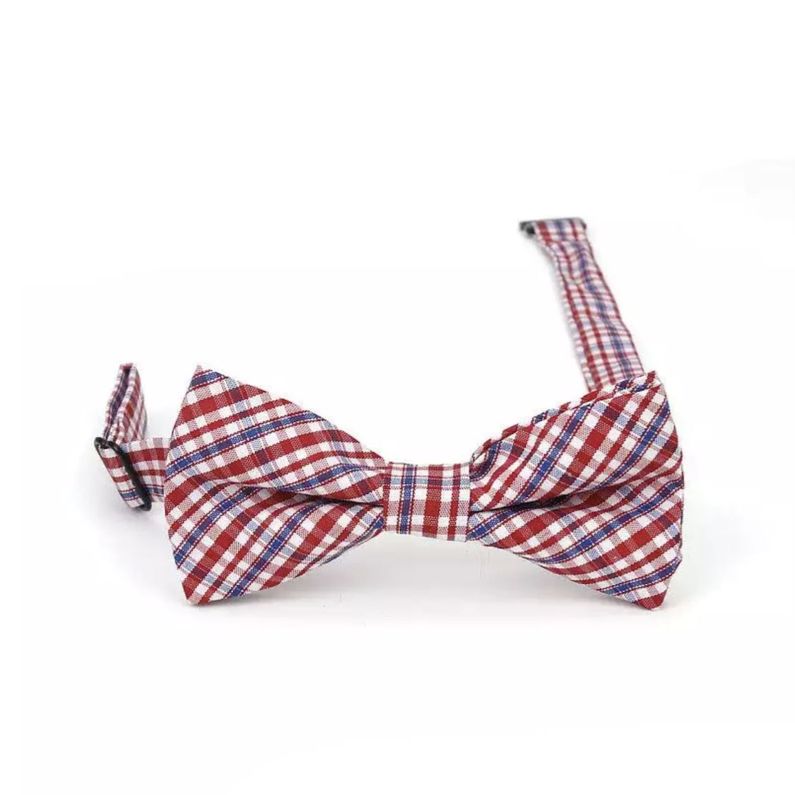 Baby & Kids Red & Blue Bowtie (6 Months - 12 Years) Bowtie Tiny Trendsetter