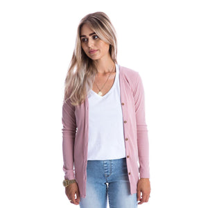 Beau Hudson - Adult Woman's Rose Signature Cardigan Sweater Beau Hudson