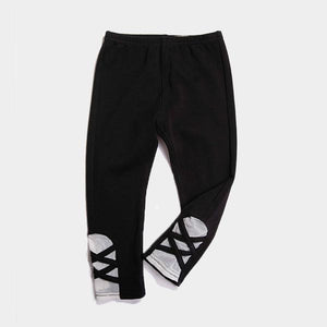 Bitz Kids - Black Design Leggings Leggings BItz Kids