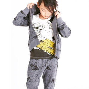 Bitz Kids - Outerspace Printed Unisex Baby and Kids Sweatpants Pants BItz Kids