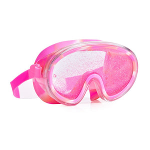 Bling2O - Beach Life Liquid Glitter Swim Mask - Sand Art Pink Swim Goggles Bling2O