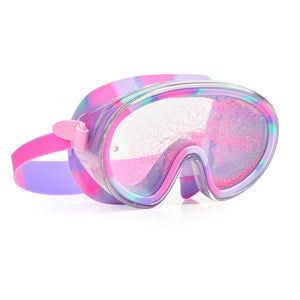 Bling2O - Beach Life Liquid Glitter Swim Mask - Sandy Toes Purple Swim Goggles Bling2O