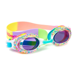 Bling2O - Cake Pop Swim Goggles - Whoopie Pie Multi Swim Goggles Bling2O